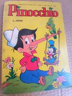 PINOCCHIO LOTTO 4 ALBI - EDIZIONI METRO Anno 1979 (280818) - Humor