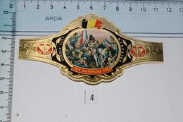 "Vander Elst Mercator 1815 Waterloo 1965 N°4 ""La Vieille Garde"" - Anelli Da Sigari"