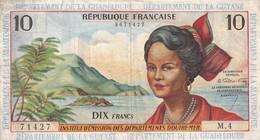 France Institut D'emission D'outre Mer 10 Francs - Treasury