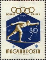 USED  STAMPS Hungary - Winter Olympic Games- Squaw Valley, USA -1960 - Hungary