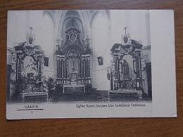 Namur, Eglise Saint Jacques (des Bateliers) Intérieur --> Onbeschreven - Namur
