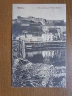 FELDPOST - Namur, Die Gesprengte Maas Brucke --> Beschreven 1915 - Namur