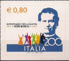 2015 Italien Mi. 3787 **MNH  200. Geburtstag Von Giovanni Bosco - 6. 1946-.. República