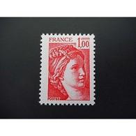 Timbre N° 1972a Neuf ** - Type Sabine Sans Phosphore - Gomme Brillante - Ongebruikt
