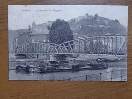 FELDPOST - Namur, Passerelle De Gragnon --> Beschreven 1916 - Namur