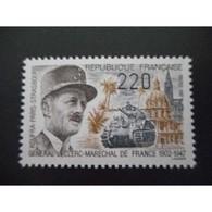 Timbre N° 2499 Neuf ** - Général Leclerc, Maréchal De France - Unused Stamps