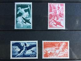Timbre France Poste Aérienne YT 16 à 19 (*) MH 1946-47 Série Mythologique (côte 11,5 Euros) – 183x - 1927-1959 Ungebraucht