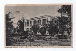 PC 1920s MOZAMBIQUE MOÇAMBIQUE AFRICA AFRIKA AFRIQUE LOURENÇO MARQUES BRITISH CONSUL'S RESIDENCE - Mozambique