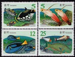 Taiwan - 2007 -  Taiwan Coral-Reef Fish - Mint Stamp Set - 1945-... République De Chine