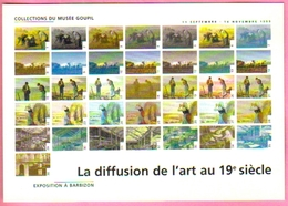 """Carte Postale """"Cart'Com"""" (1999) - Collections Du Musée Goupil - Exposition à Barbizon - Arts"""