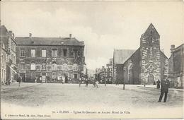 FLERS Eglise Saint Germain Et Ancien Hôtel De Ville - Flers