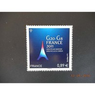 Timbre N° 4575 Neuf ** - G20-G8 - Présidence Française En 2011 - France