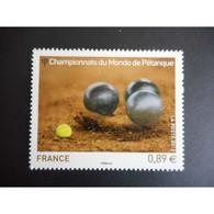 Timbre N° 4684 Neuf ** - Championnat Du Monde De Pétanque - France