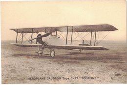 """TRANSPORT AVIATION : AEROPLANE CAUDRON """" TYPE C.27 """" TOURISME - AVION - 1919-1938: Entre Guerres"""