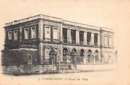 CPA PONDICHERY - L' Hôtel De Ville - India