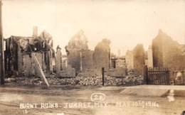 10776 - Mexique - Burnt Ruins - Juarez - Carte Photo - Mexique