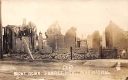 10776 - Mexique - Burnt Ruins - Juarez - Carte Photo - Mexico