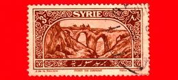 SIRIA - Usato - 1925 - Antico Ponte Di Antiochia - Bridge Of Daphne - 3 - Syrie