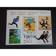 Bloc De Timbres N° 28 Neuf ** - Fête Du Timbre  Tintin - Blocs & Feuillets