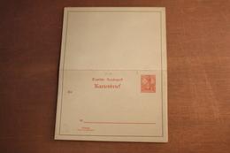 ( 299 ) DR Kartenbrief  K  10   *    -  Erhaltung Siehe Bild - Stamped Stationery