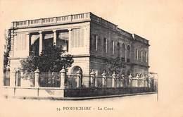 CPA PONDICHERY - La Cour - India