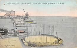 10796 - Etats Unis - Complete Lower Drawbridge Pier Moser Channel - Etats-Unis