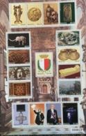 Malta 2009 Definitive Issue Sheet Set Mnh - Malta