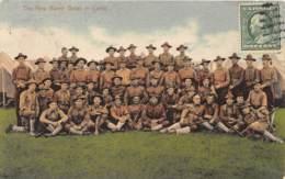 10798 - Etats Unis - The New Haven Grays In Camp - Etats-Unis