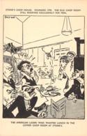 10815 - Etats Unis - Carte Illustrée - Stone's Chop House - Etats-Unis
