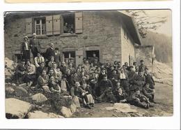 Carte-photo Lac Du SCHIESSROTHRIETH - Refuge Des Vosges Trotters Animée - Muhlbach - Metzeral - Munster