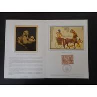 Encart De Luxe - Ramsès Le Grand - 4/9/76 - Documents De La Poste