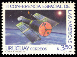 Uruguay 1996 Third Space Conference Unmounted Mint. - Uruguay
