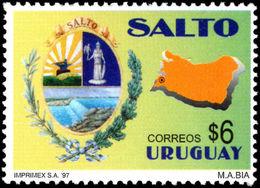 Uruguay 1997 Salto Unmounted Mint. - Uruguay