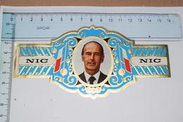 NIC Président Giscard D'Estaign France - Bagues De Cigares