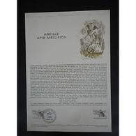 Document Officiel La Poste - Abeille Apis Mellifica - Documentos Del Correo