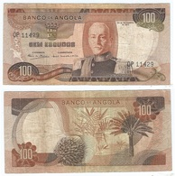 Angola (Portugal) 100 Escudos 24-11-1972 Pk 101 Firma 7 Ref 83-4 - Angola