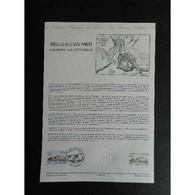 Document Officiel La Poste - Belle île En Mer - Vauban - La Citadelle - Documents De La Poste