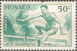 MH  STAMPS Monaco - Olympic Games - London, England -1948 - Monaco