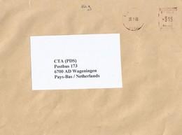 "Niger 2005 Niamey Meter Havas ""P"" 110097 EMA Cover - Niger (1960-...)"