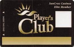 SunCruz - Casino Cruise Ship From Florida - Elite Slot Card With RAIH/GZ - Casino Cards