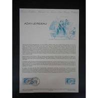 Document Officiel La Poste - Azay Le Rideau - Documents De La Poste