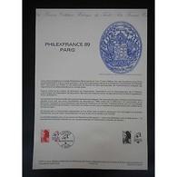 Document Officiel La Poste - Philexfrance 89 - Documents De La Poste