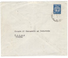 YN269    Israel 1948 Letter From Tel-Aviv To Parma - Israel