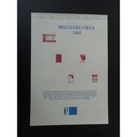 Document Officiel La Poste - Meilleurs Voeux 1993 - Documents De La Poste
