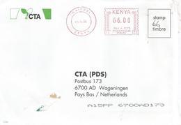 "Kenya 2004 Nairobi Meter Pitney Bowes-GB ""6300"" PB 333 EMA Cover - Kenia (1963-...)"