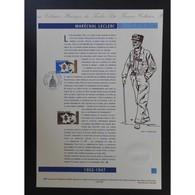 Document Officiel La Poste - Maréchal Leclerc - Documents De La Poste