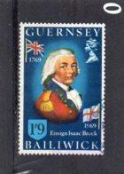 1969 Sir Isaac Brock 1/9d Used - Guernsey