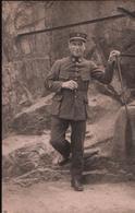 Carte Photo Militaire En Uniforme (3ème Régiment D'Infanterie Coloniale à ROCHEFORT SUR MER) - Uniformes