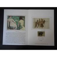 Encart De Luxe - Tableau Marcel Duchamp - 17/10/98 - Documents De La Poste
