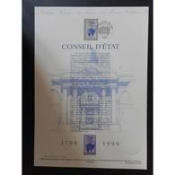 Document Officiel La Poste - Conseil D'état - Documents De La Poste